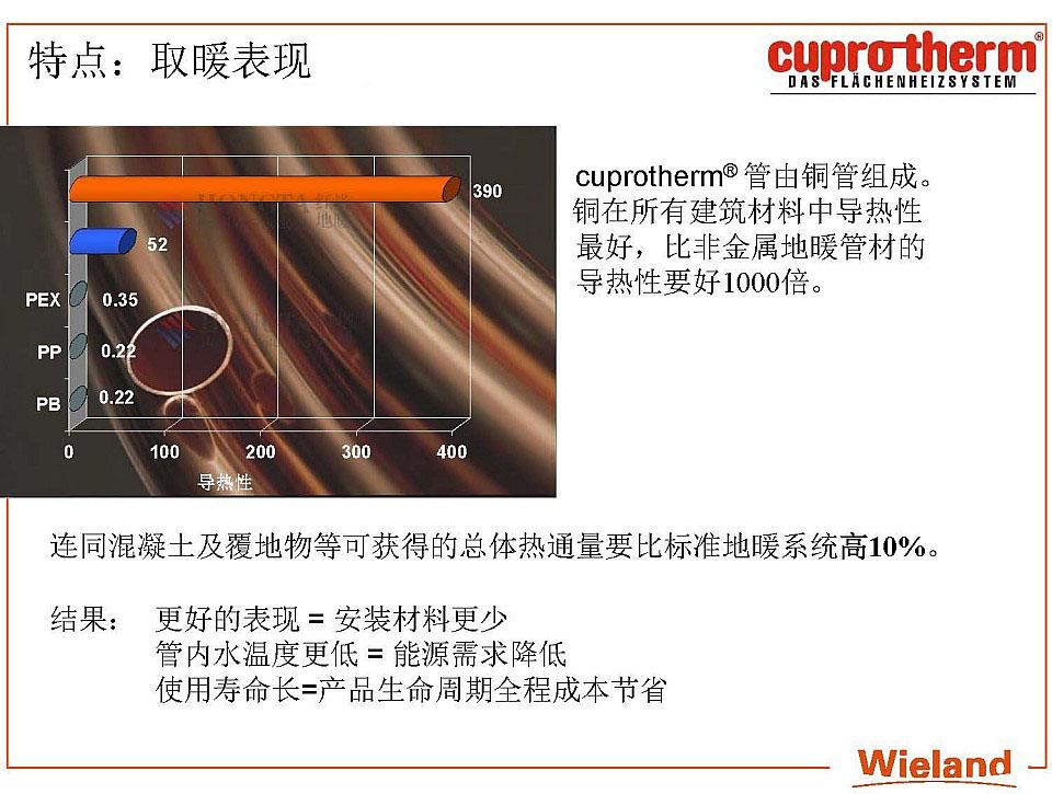 紫铜管地暖系统