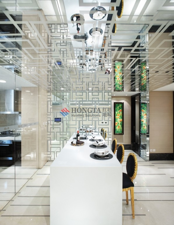承接北京饭店二期霞公府地暖项目
