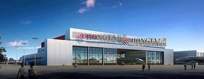 东方航空飞机场地暖