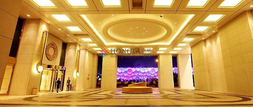 盘古七星大酒店地暖项目现场图片