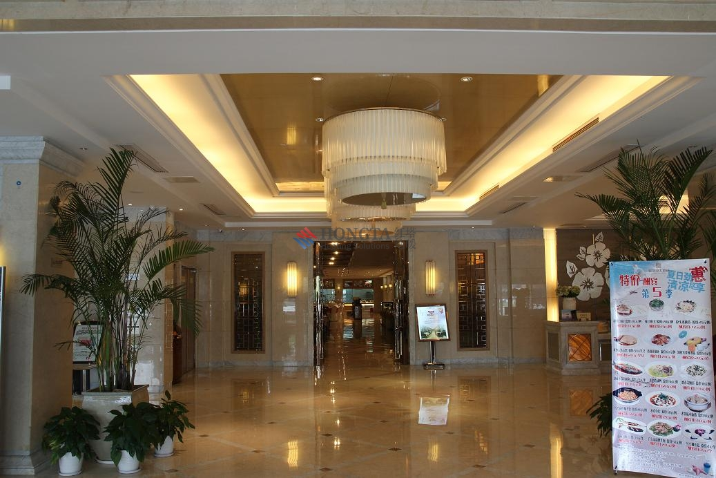 大酒店地暖