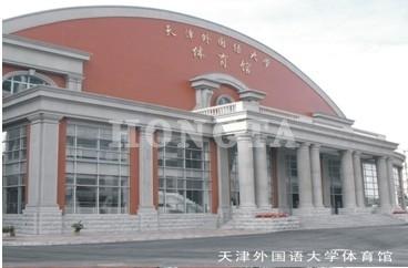 体育馆泳池应用案例:外国语学院