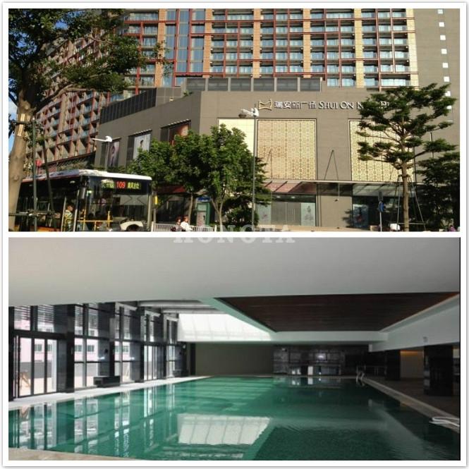 佛山岭南天地酒店地暖泳池