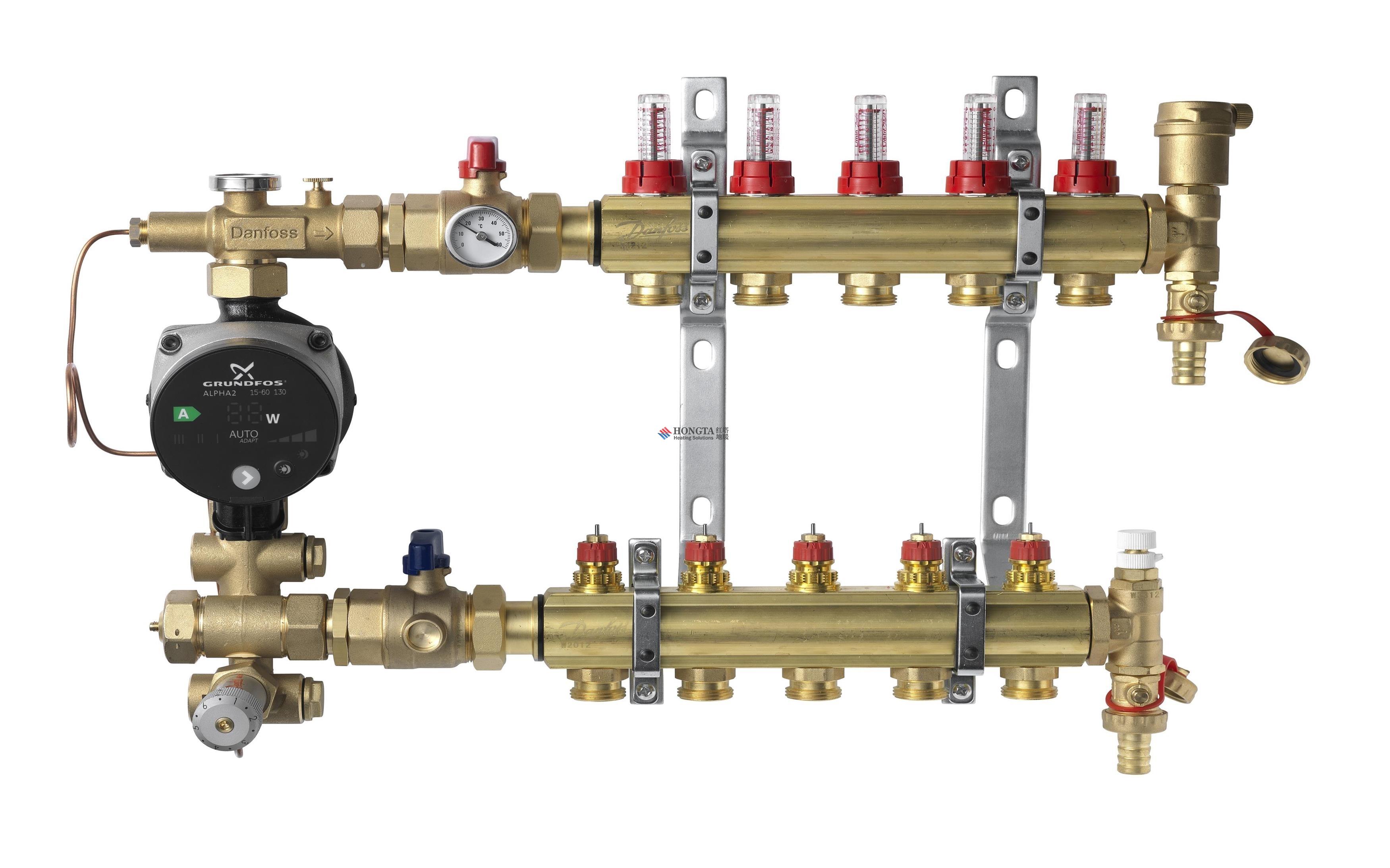 地暖混水中心系统