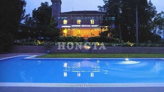 会所室外泳池热水恒温解决酒店地暖
