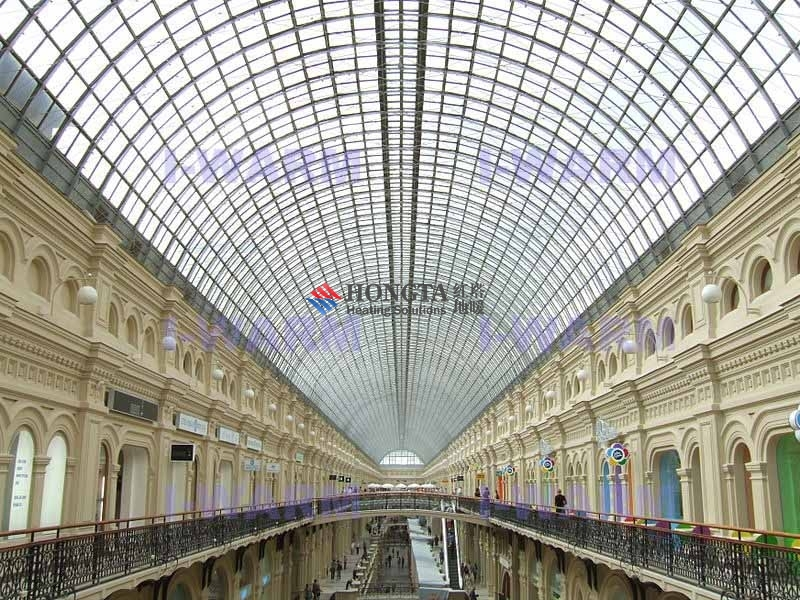 俄罗斯莫斯科的GUM商场