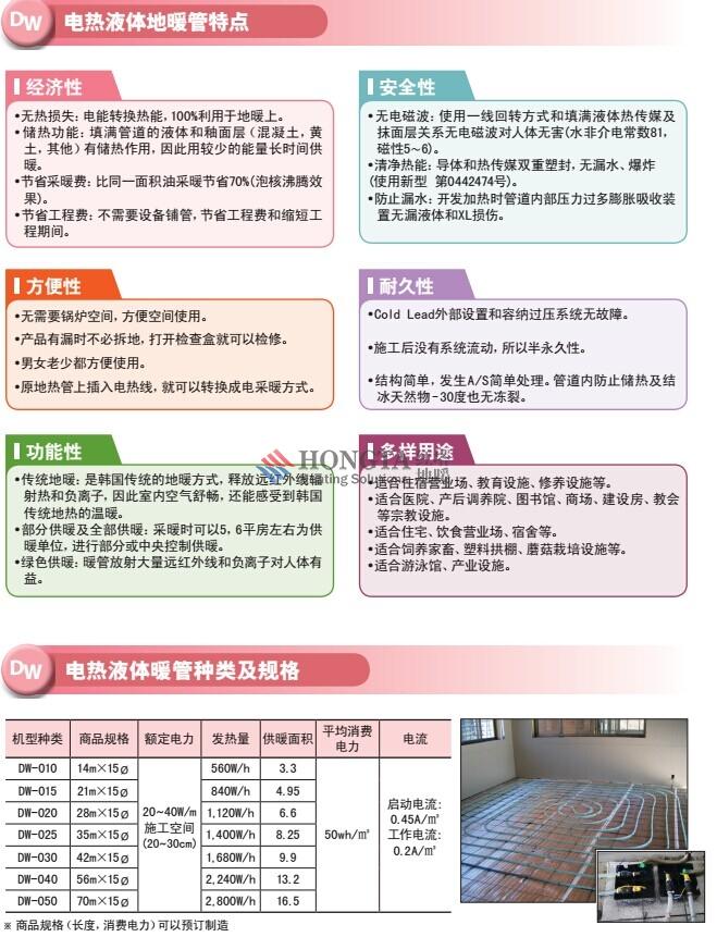 北京电地暖公司产品图片