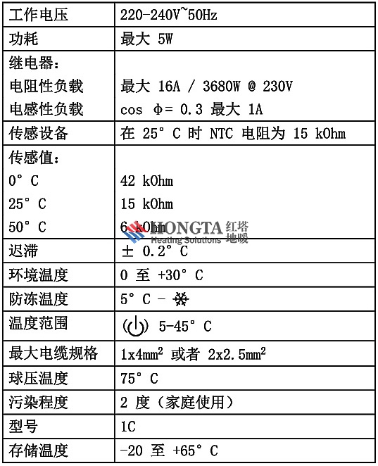 efet系列机械式地暖地暖温控器