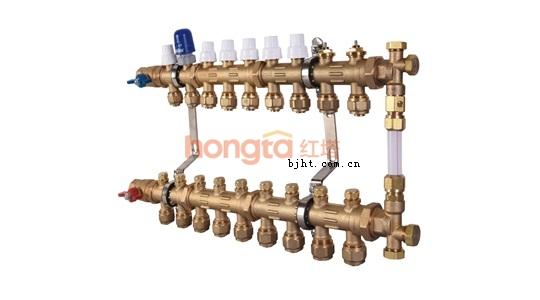 欧博诺UBC黄铜分集水器
